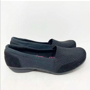 Skechers memory foam slip on loafers